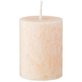 Свеча ароматическая стеариновая столбик cotton диаметр 6 см высота 8,5 см-348-791