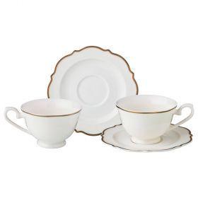 Чайный набор на 2 персоны 4 пр.230 мл.-115-282