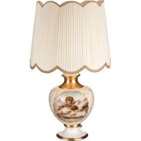 Светильник настольный + абажур диаметр=55 см. высота=95 см. е27-313-068