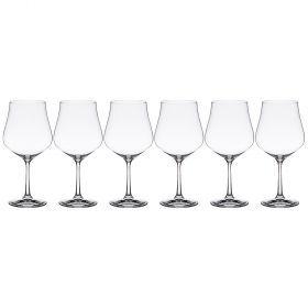 Набор бокалов для вина 600 мл из 6 штук