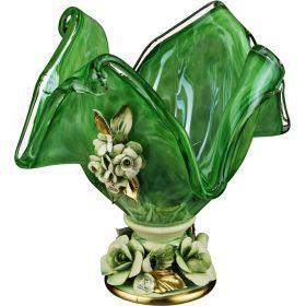 Декоративная чаша 20*20 см.высота=22 см.-647-649