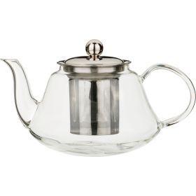Заварочный чайник с фильтром нжс, 1000 мл, жаропрочное стекло-891-022
