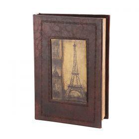 Шкатулка-книга эйфелева башня 27*19*5 см.