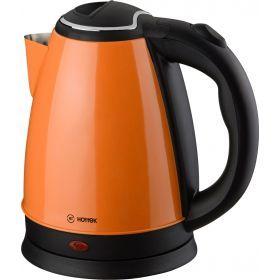 Чайник электрический из нерж.стали hottek ht-970-002 1,8л, 1800 вт оранжевый-970-002