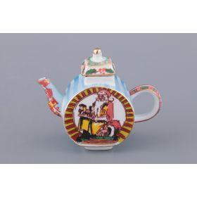 Чайник декоративный высота=8,5 см.-82-1029