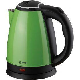 Чайник электрический из нерж.стали hottek ht-970-003 1,8л, 1800 вт зеленый-970-003