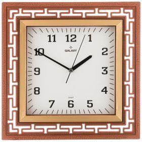 Часы настенные кварцевые  30,5*30,5 см размер циферблата 20*20 см (кор=20шт.)-207-345