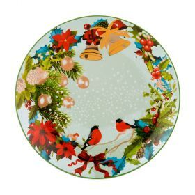 Тарелка десертная диаметр=20 см. без упаковки (Товар продается кратно 6шт./кор=36шт.)-356-308