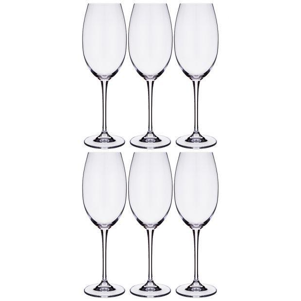 """Набор бокалов для вина из 6 шт. """"esta / fulica"""" 400 мл высота=25 см-669-260"""