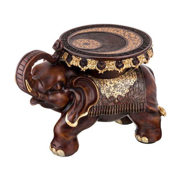 """Подставка-слон """"укрепление веры в собственные силы"""" 32,5*36 см. высота=46 см.-114-335"""