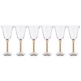 Набор бокалов для вина из 6 шт. 300 мл. высота=23 см.-661-051