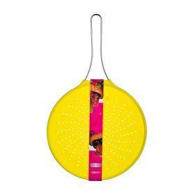 Силиконовый экран от брызг диаметр=30 см. желтый-710-136