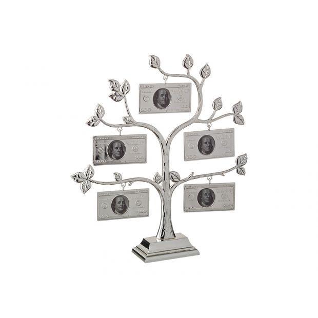 "Фоторамка ""денежное дерево"" на 5 фото 4*3,5 см.высота=29 см.-363-164"