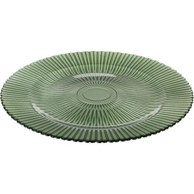 "Блюдо ""изумруд"" диаметр= 33 см.-228-100"