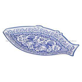 Блюдо для рыбы петух длина=30 см. ширина=17 см.