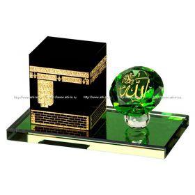 Изделие декоративное мечеть каба 12*6*7 см.