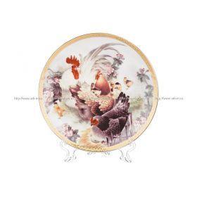 Тарелка настенная декоративная, диаметр 17,8 см.
