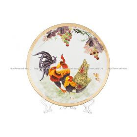 Тарелка настенная декоративная диаметр=18 см.