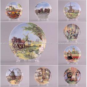 Тарелка декоративная диаметр=20 см 6 видов