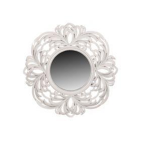 Зеркало в рамке из полистоуна 24*24/57*57 см.-791-017