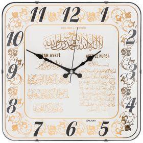 Часы настенные кварцевые 35,5*35,5 см размер циферблата 34,5*34,5 см (кор=10шт.)-207-329