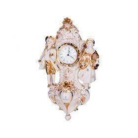 Часы настенные 47*27 см. циферблат диаметр=8 см.-282-151