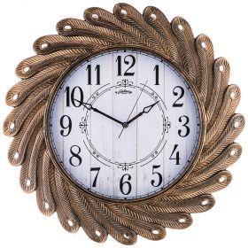 Часы настенные кварцевые диаметр 53 см диаметр циферблата 33,1 см (кор=8шт.)-207-313