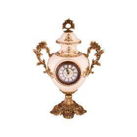 Часы настольные диаметр циферблата=10 см 38*16 высота=52 см-46-1261