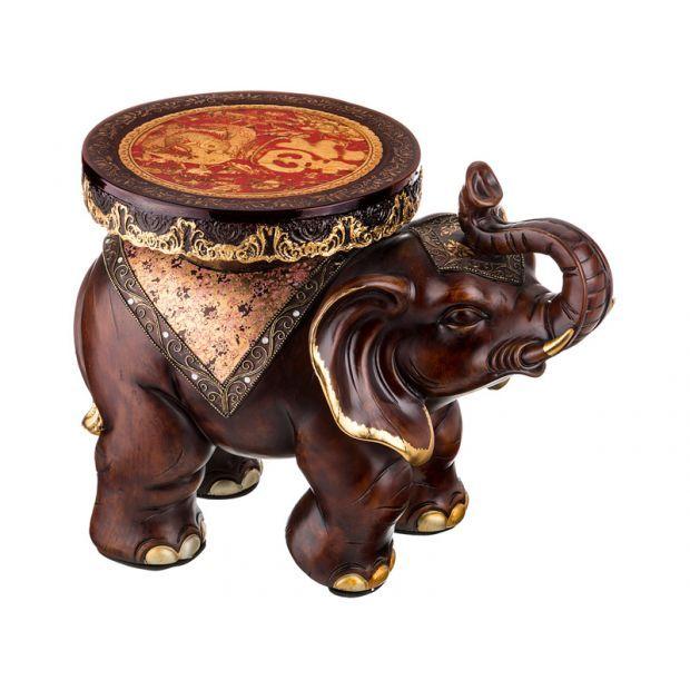 "Подставка-слон ""процветание"" 56*34*45 см.-114-337"