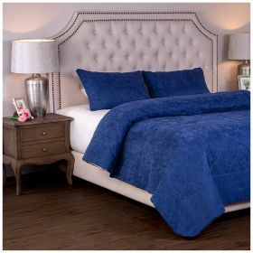 Комплект на кровать из покрывала и 2-х нав