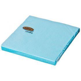 Салфетки бумажные 2-х слойные 33*33 см голубой-423-235