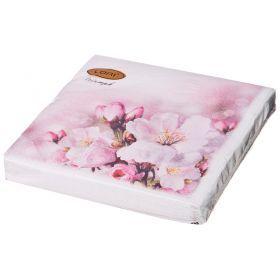 Салфетки бумажные 3-х слойные 33*33 см-423-223
