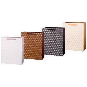 Комплект бумажных пакетов из 12 шт  32*26*12 см.-512-565
