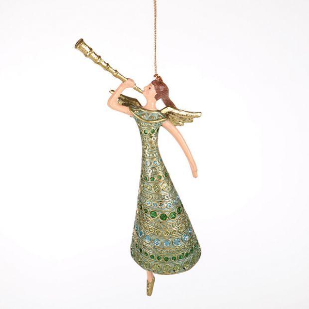 """Елочная игрушка """"ангел"""" 15 см.без упак.-130-132"""