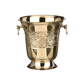 Ведро для шампанского латунь высота=23 cm, 4000мл-878-015