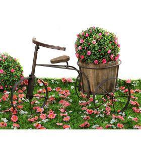 Велосипед кашпо 60*32*38 см-113-214