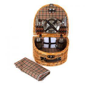 Набор для пикника на 2 персоны 17 пр.-350-020