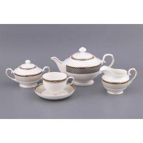 Чайный сервиз на 6 персон 15 пр.1200/220 мл.(кор-4наб)-133-152