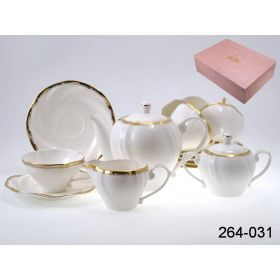 Чайный набор 15 пр. бланшет 1000/160 мл.под.упак.