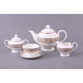 Чайный сервиз на 6 персон 15 пр.1100/200 мл.