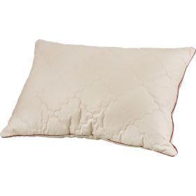Подушка  як 50*70 см, верх: тик-100% хлопок, наполнитель: 100% полиэстер, цвет бежевый с рисунком-556-157