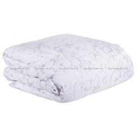 Одеяло афродита 200*220 см, верх: тик-100% хлопок, наполнитель:100% пух , белый