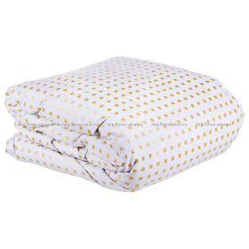 Одеяло афродита 172 *205 см, верх: тик-100% хлопок, наполнитель:100% пух , белый