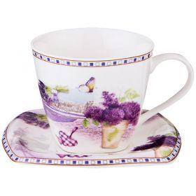 Чайный набор на 1 персону 2пр. 220 мл-165-433