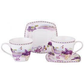Чайный набор на 2 персоны 4пр. 220 мл-165-434
