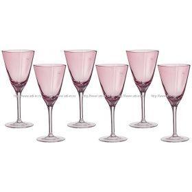 Набор бокалов для вина из 6 шт.280 мл.высота=21 см.