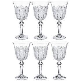 Набор бокалов для вина из 6 шт. 250мл. высота=16,5см.-614-648
