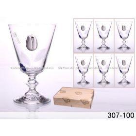 Набор бокалов для воды из 6 шт. 300 мл.