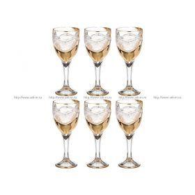 Набор бокалов для вина парус 270 мл. высота=20 см.