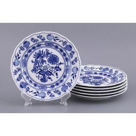 Набор тарелок из 6 шт. луковый узор диаметр=19,5 см.